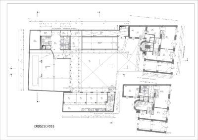 Wir digitalisieren Ihre alten Baupläne in CAD. Die Digitalisierung erfolgt dabei von Hand. Die fertigen CAD Files können von Architekten und Ingenieure sofort weiter verwendet werden.