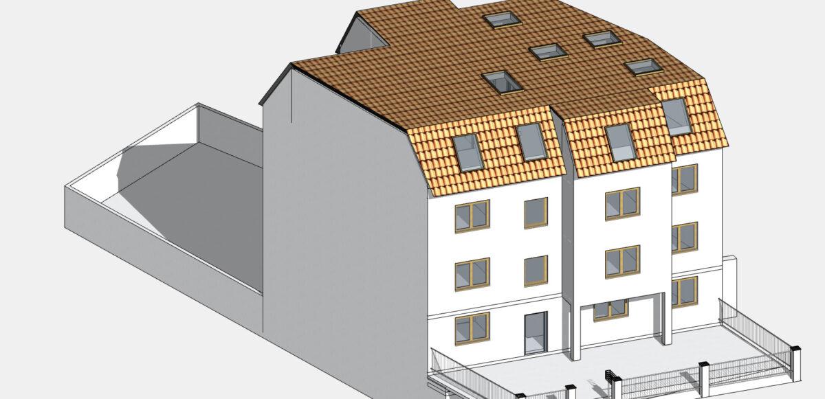 BIM Modell erstellen: Wir digitalisieren Gebäudepläne und Baupläne in 2D sowie 3D in allen gängigen CAD-Programmen.