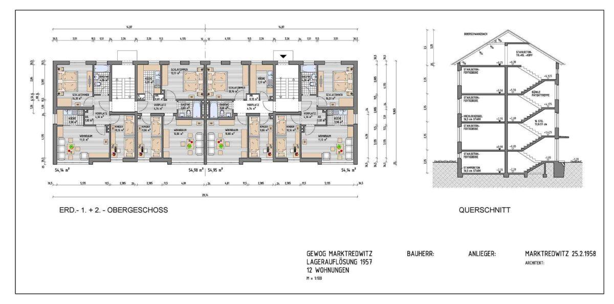 Wir digitalisieren Gebäudepläne und Baupläne in 2D sowie 3D in allen gängigen CAD-Programmen