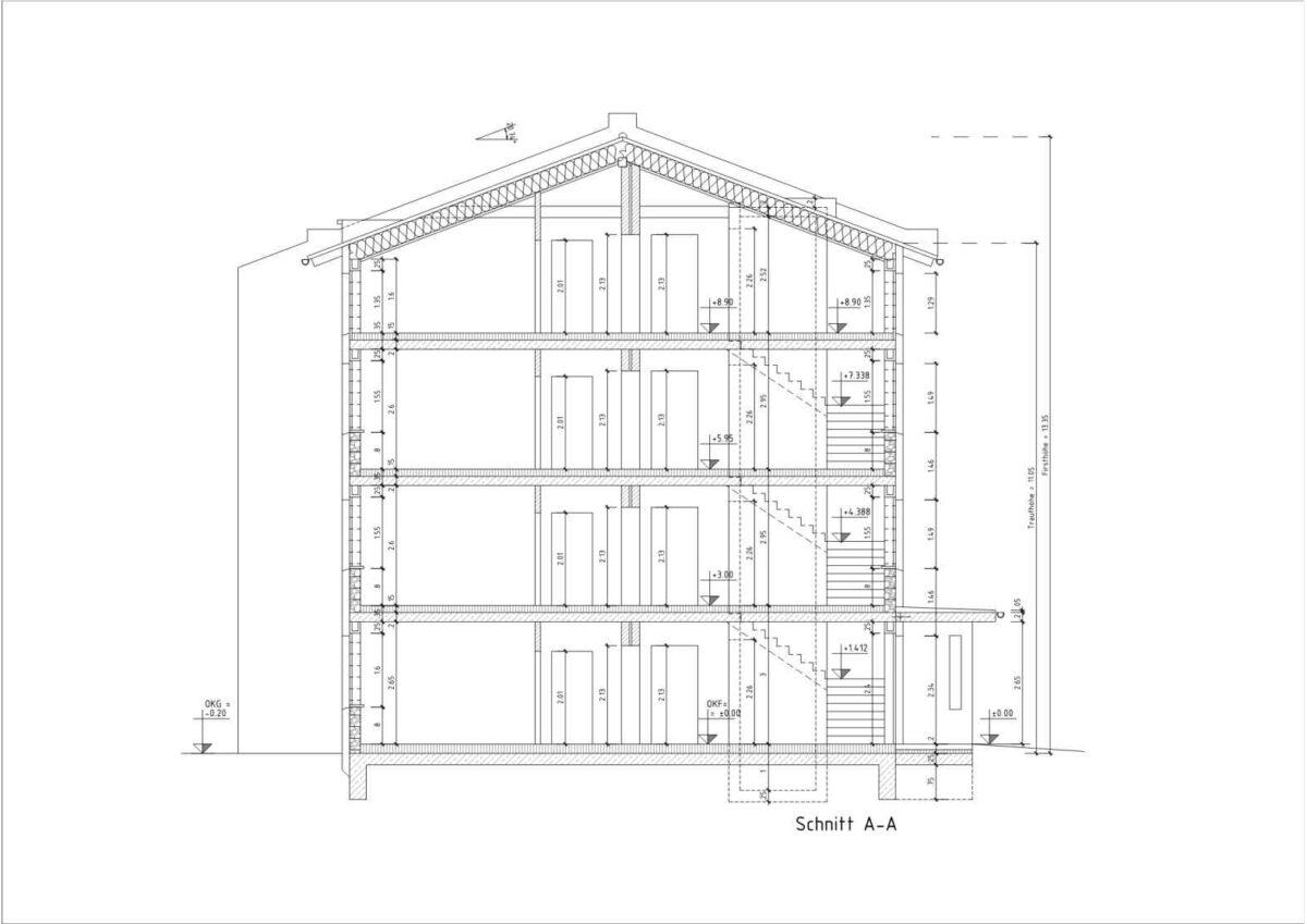 Die Digitalisierung von Bestandsplänen in CAD erfolgt manuell durch unsere Mitarbeiter. Die Bestandspläne sind zu 100% Maßhaltig. Bei der Digitalisierung werden die einzelnen Objekte übersichtlich auf verschiedene Layer aufgeteilt, so ist anschließend die Weiterbearbeitung durch den Architekten oder Ingenieur gewährleistet